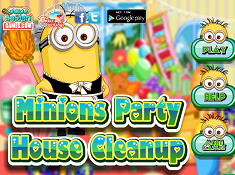 Minions Party House Cleanup