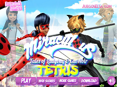 Miraculous Tales of Ladybug and Cat Noir Tetris