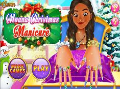 Moana Christmas Manicure