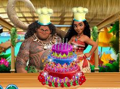 Moana Delicious Cake