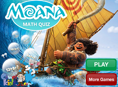 Moana Math Quiz