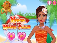 Moana Modern Princess