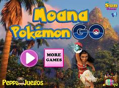 Moana Pokemon Go