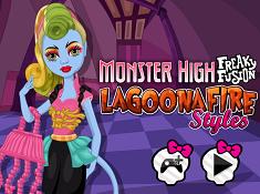Monster High Lagoona Fire Styles