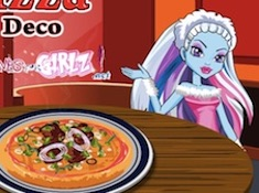 Monster High Pizza Decor