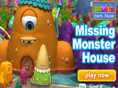 Monster Math Squad Missing Monster House
