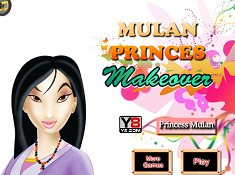 Mulan Princess Makeover