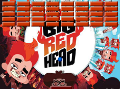 My Big Red Head Arkanoid