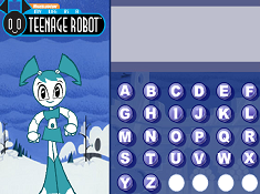My Life as a Teenage Robot Hangman