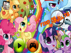My Little Pony Find Objects