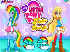 My Little Pony Hair Design