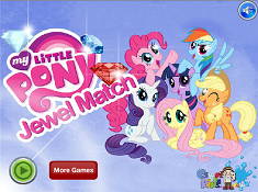 My Little Pony Jewel Match