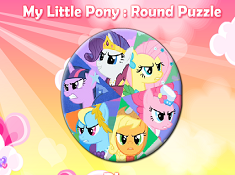 My Little Pony Round Puzzle