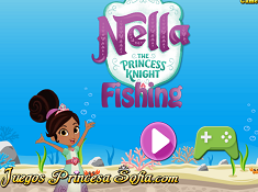 Nella the Princess Knight Fishing