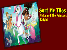 Nella the Princess Knight Sort My Tiles