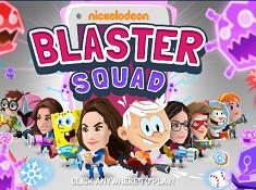 Nickelodeon Blaster Squad