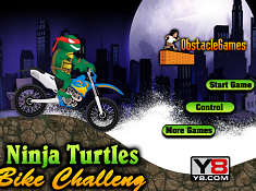 Ninja Turtles Bike Challenge
