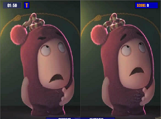 Oddbods Differences