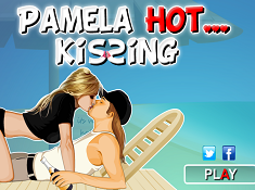 Pamela Hot Kissing