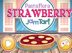 Pasta Flora Strawberry Jam Tart
