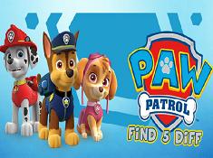 Paw Patrol Find 5 Diff