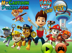 Paw Patrol Find Puppy