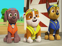 Paw Patrol Karate Students