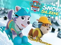 Paw Patrol Snow Slide