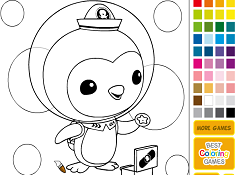 Penguin Peso Coloring