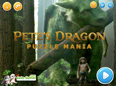 Petes Dragon Puzzle Mania