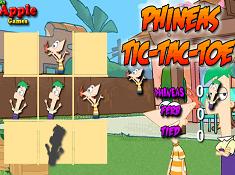 Phineas Tic-Tac-Toe
