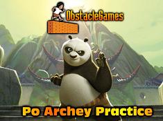 Po Archery Practice