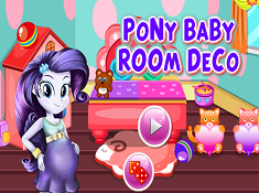 Pony Baby Room Deco
