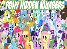 Pony Hidden Numbers