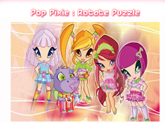 Pop Pixie Rotate Puzzle