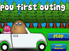 Pou First Outing