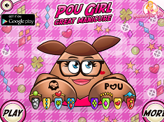 Pou Girl Great Manicure