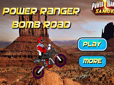 Power Ranger Bomb Road
