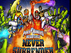 Power Rangers Megaforce Never Surrender