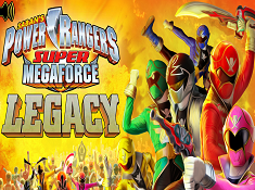 Power Rangers Super Megaforce Legacy