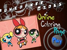 Powerpuff Girls Online Coloring