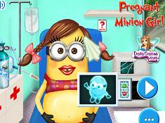 Pregnant Minion Girl