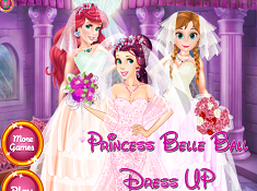 Princess Belle Ball Dress Up