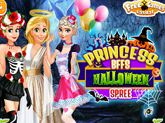 Princess BFFs Halloween Spree
