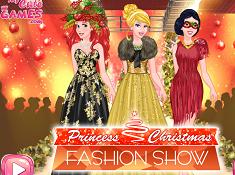 Princess Christmas Fashion Show