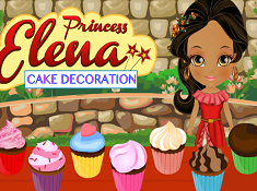 Princess Elena Cake Decoration