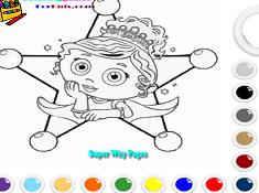 Princess Presto Coloring