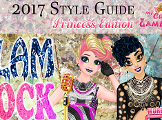 Princess Style Guide Glam Rock
