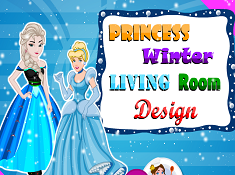 Princess Winter Living Room Design
