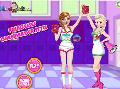Princesses Cheerleader Style